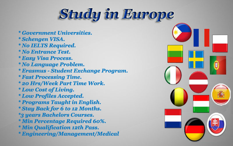 Benefits of Studying in Europe