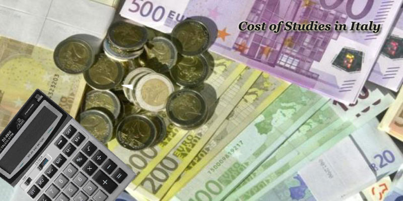 Cost of Studies in Italy