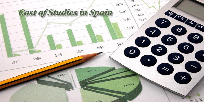 Cost of Studies in Spain