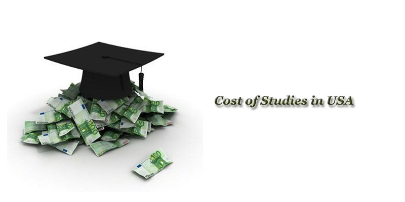 Cost of Studies in USA