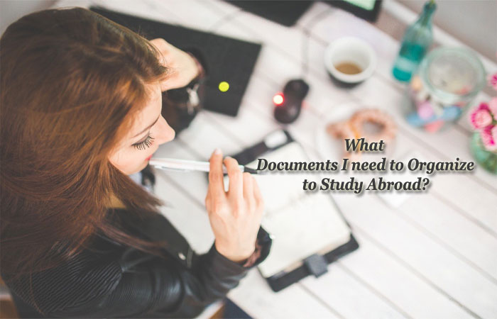 Documents to Study Abroad