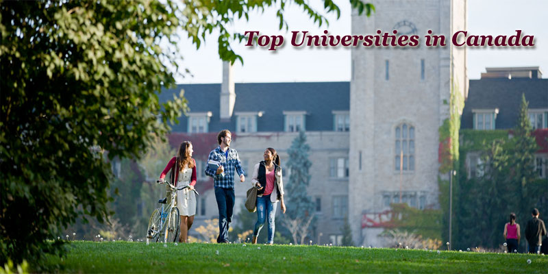 Top Universities in Canada