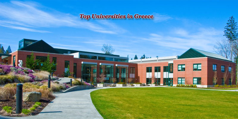 Top Universities in Greece