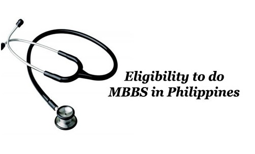 MBBS in Philippines Eligibility Image