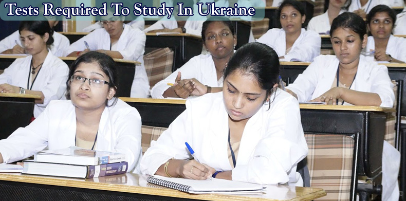 MBBS in Ukraine Tests Required Image